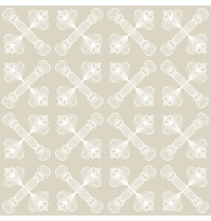 Linear art deco pattern with barely visible lines vector