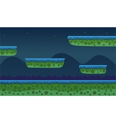 Game background - night vector