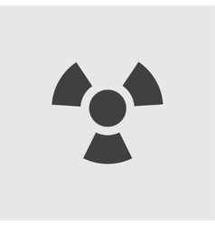 Radiation icon vector image