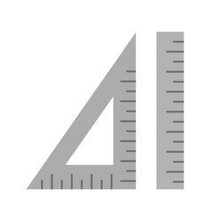 Ruler and set squate vector