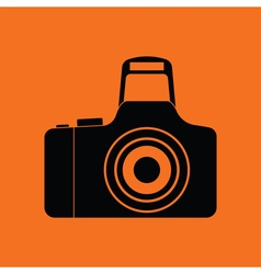 Icon of photo camera vector