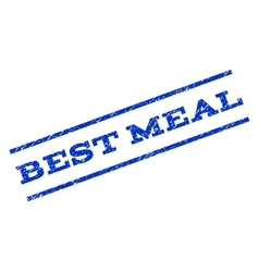 Best meal watermark stamp vector