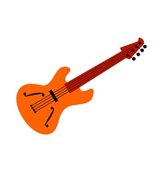 A guitar vector image