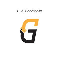Creative g letter icon abstract logo design vector