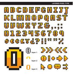 layered pixel type vector image