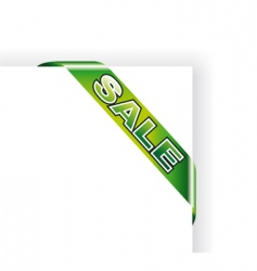 sale sheet tag vector image