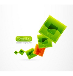 modern logo vector image