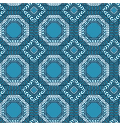 Abstract seamless pattern with a trellis structure vector