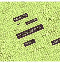 Business idea vector