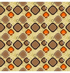 seamless retro pattern 02 vector image