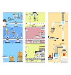 Container terminal production transporter cards vector