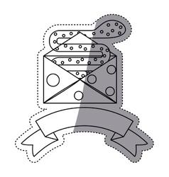 Envelope snake and security system design vector