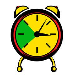 Alarm clock icon icon cartoon vector