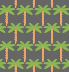 Palms seamless pattern Background of tropical vector image