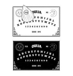 Ouija boards vector image vector image
