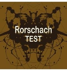 Rorschach inkblot test random vector
