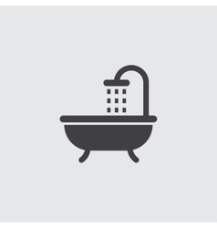 Shower icon vector