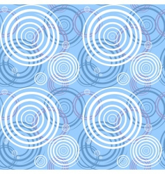Seamless pattern with spiral elements vector