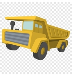 Building truck tipper cartoon vector