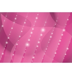 parallel lines of stars on the crimson background vector image vector image