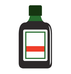 Plastic bottle icon isolated vector