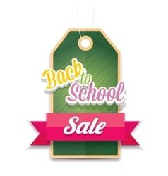 welcome back to school sale sticker vector image vector image