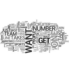What it takes to be number one text word cloud vector