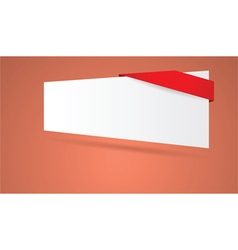 Abstract blank sign vector