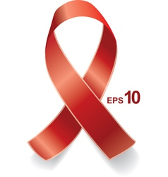 AIDS ribbon EPS10 vector image