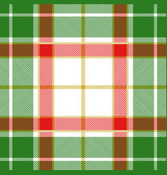 christmas decoration tartan plaid seamless pattern vector image