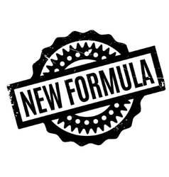 New formula rubber stamp vector