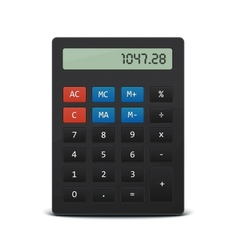 Pocket calculator vector