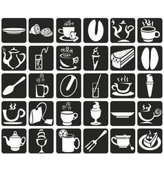 Coffee and tea vector