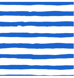 watercolor blue stripes background vector image vector image