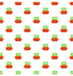 Slot machine pattern cartoon style vector