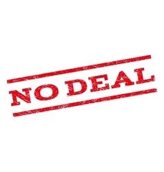 No deal watermark stamp vector