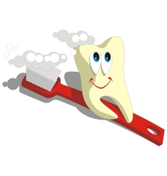 Tooth cartoon set 003 vector