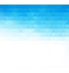 Abstract blue geometric technology background vector image