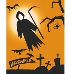 Death halloween vector