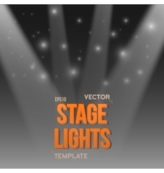 Stage light effect eps10 bright stage vector