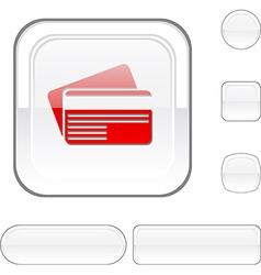 Card white button vector