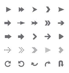 set of universal arrows vector image