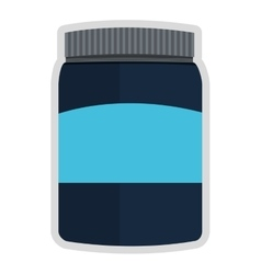Dietary supplement icon vector
