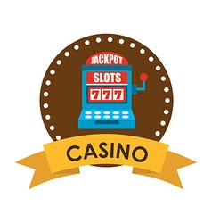 casino game design vector image