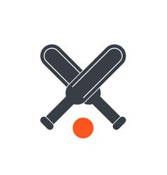 cricket icon vector image vector image