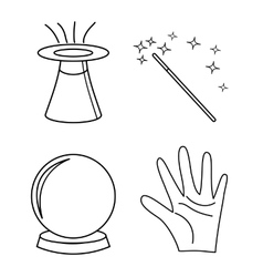 Magic vector image vector image