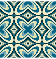 Retro Wallpaper Abstract Seamless Pattern vector image vector image