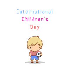 International children s day vector