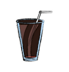 Delicious cola soda vector