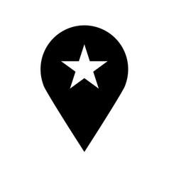 geo location pin icon vector image